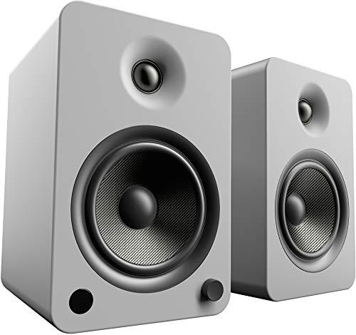 Kanto YU6Powered Lautsprecher mit Bluetooth und Phono-Vorverstärker, Matt Grau