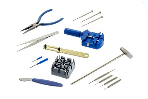 SE JT6221 16-Piece Watch Repair Tool Kit