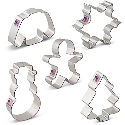 Christmas Cookie Cutter Sets - Ann Clark - USA Made Steel