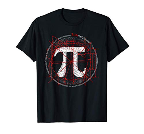 Pi Novelty Circle For Pi Day Math Geek Science Lovers Gift T-Shirt