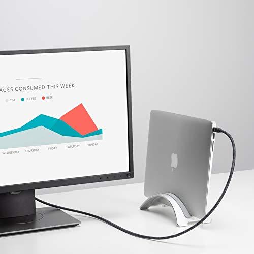 iVANKY Mini Display Port to Displayport, 4K @60Hz, Mini DP auf DP, Mini Displayport Kabel kompatibel mit MacBook Pro & MacBook Air (2010-2015), Mac Pro (2010-2013), Surface Pro und mehr - 1m