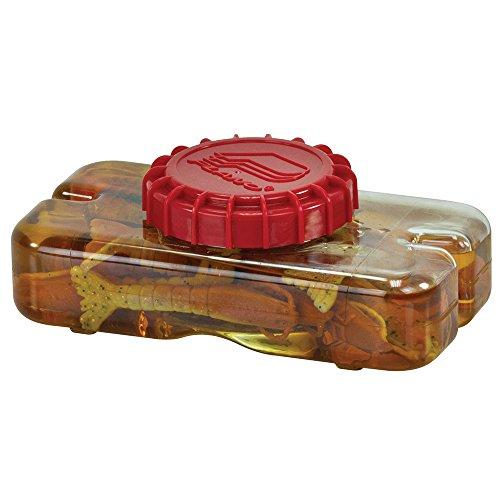 Plano Liqua Bait Storage Bottle and Bait Grabber, Clear, 23.5 oz (465100)