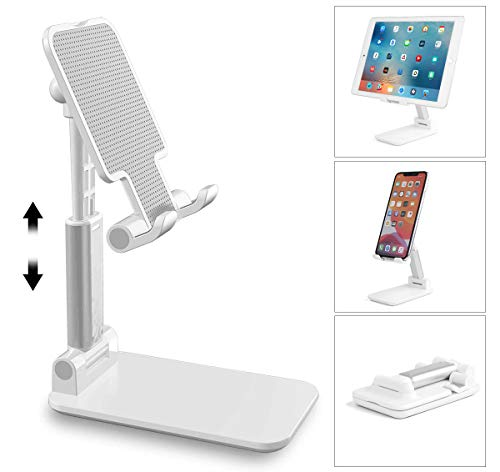 AICase Soporte Tablet/Móvil, Universal Multiángulo Soporte Ajustable para iPad Pro 10.5/9.7/11, iPad Mini 2 3 4, iPad Air, iPhone, Samsung Tab, Otras Smartphones e Tablets [4-11