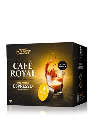 Café Royal Espresso 48 Nescafé®* Dolce Gusto®* kompatible Kaffeekapseln, 3er Pack (3 x 16 Kapseln)