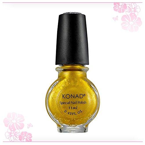 KONAD® Stamping Lack S04 gold, 1x 11ml