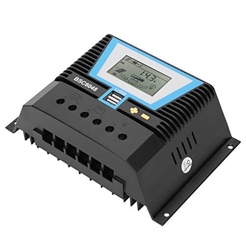 Controlador solar Controlador solar de 60 amperios Controlador Erengy de 60 A multifuncional para una variedad de baterías
