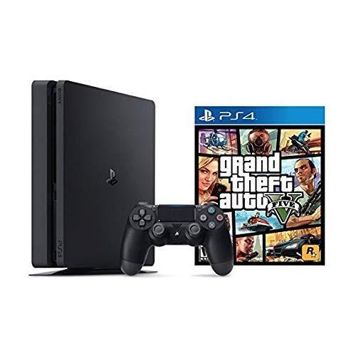 PlayStation 4 Slim 1TB Console Grand Theft Auto V Bundle ( 2 - Items )