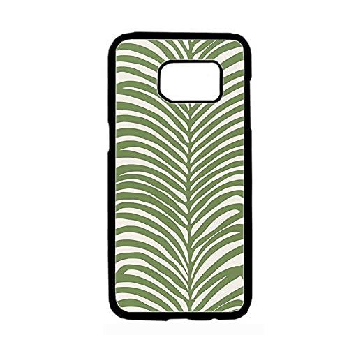 Shells Abs Diferentemente Compatible para Samsung Galaxy S 7 para Chica Print con Orla K 7
