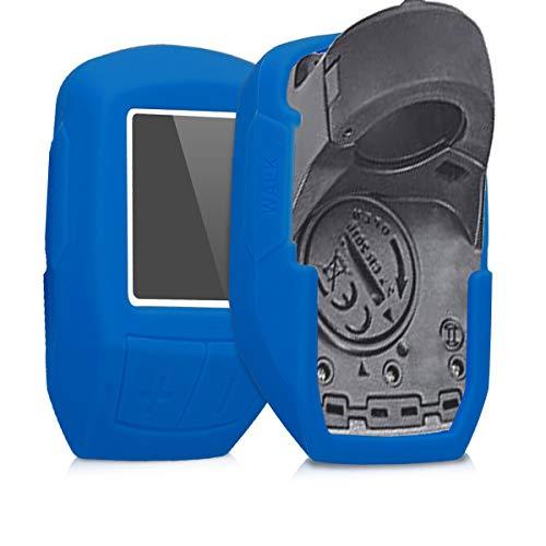 kwmobile Hülle kompatibel mit Bosch Purion - Silikon E-Bike Computer Cover Case Schutzhülle - Blau