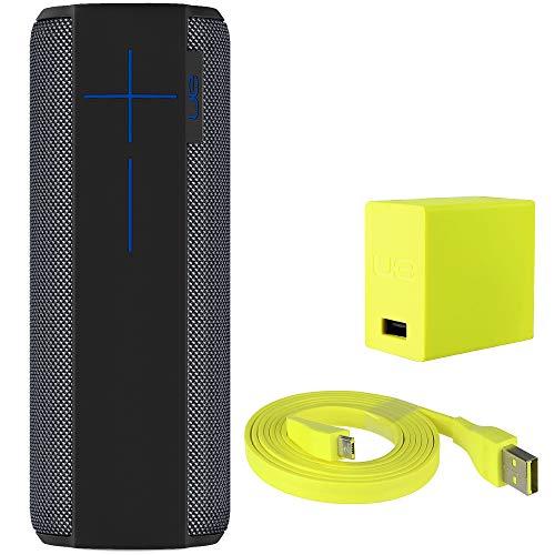 Ultimate Ears MEGABOOM Waterproof Portable Wireless Bluetooth Speaker- Bulk Packaging - Charcoal Black