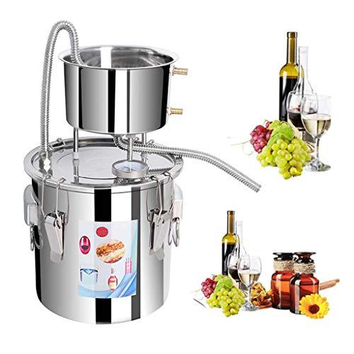 LING AI DA MAI Kit de elaboración de vino DIY alcohol todavía elaboración de whisky kit de whisky, se puede utilizar para bebidas alcohólicas domésticas caldera agua aceite brandy elaboración de cer