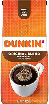 Café molido de Dunkin' Donuts