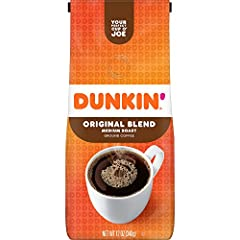 Contains 1 - 12 ounce bag of ground coffee. For a limited time, you may receive either bag while we update our packaging. Both contain the same great Dunkin' Coffee Original Blend is the coffee that made Dunkin' famous, featuring a rich, smooth taste...