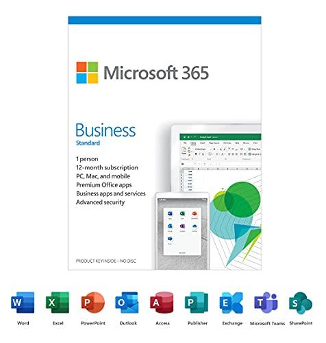 Microsoft 365 Business Standard 1 Y…