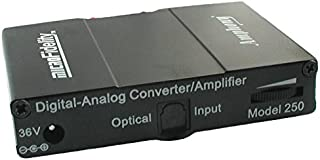 Digital-to-Analog Converter and 80 Watt Stereo Amplifier Model 250 Black