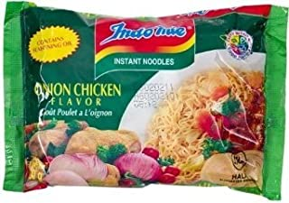 Indomie Instant Noodle - Onion Chicken Flavor (Pack of 60)