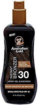 Australian Gold Spray Gel Sunscreen with Instant Bronzer SPF 30