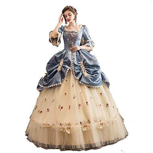 Disfraz de María Antonieta Rococó Georgiano para mujer XS, Marie_Antoniette_3)