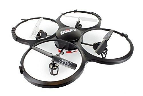 GoolRC aggiornato U818A UdiR/C HD 6 assi giroscopio RC Quadcopter RTF UFO con modalità senza testa di videocamera HD 720p e ritorno di un-chiave