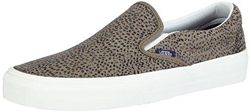 Vans Unisex Classic Slip-ON Low-top, Mehrfarbig (Cheetah Suede/Black/tan), 39 EU