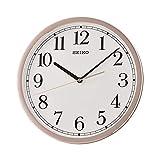 SEIKO Pared Analógico Cuarzo Relojes de Pared de Plástico QXA730P