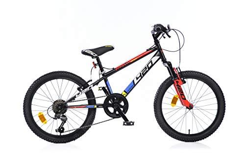 mountain bike 7 anni maschio Dino Bikes 420 US serie MTB bicicletta 20 con cavallo