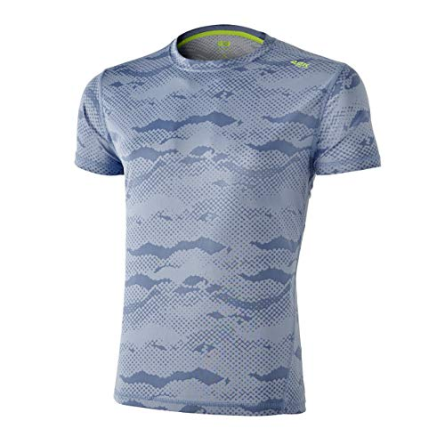 42K RUNNING - Camiseta técnica 42K Marvel Hombre Blue L