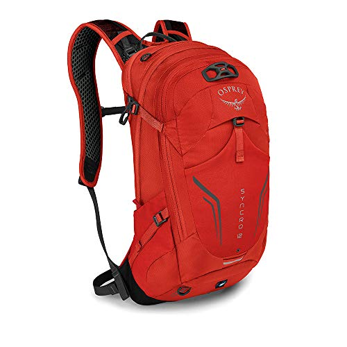 Osprey Syncro 12 Pack Multi-Sport Hommes - Pack Sport - Rouge (Firebelly Red (O/S))