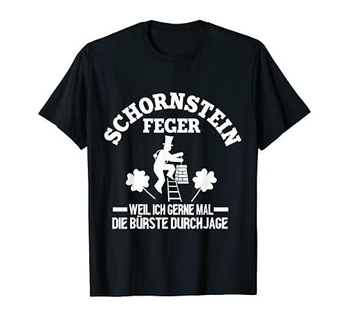 Herren Schornsteinfeger weil ich gerne mal die Bürste durchjage T-Shirt