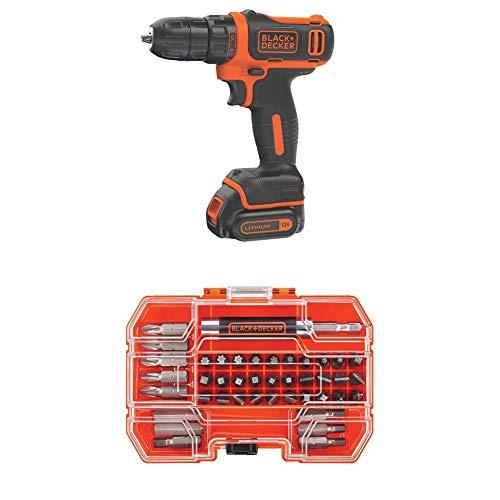 BLACK+DECKER 12V MAX Cordless Drill…