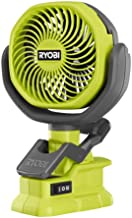 RYOBI 18V ONE+ Cordless 4 in Clamp Fan (Tool Only)