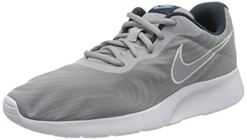 Nike Herren Tanjun PREM Sneaker, Grau (Wolf Grey/Armory Navy/still Blue/Wolf Grey), 45.5 EU