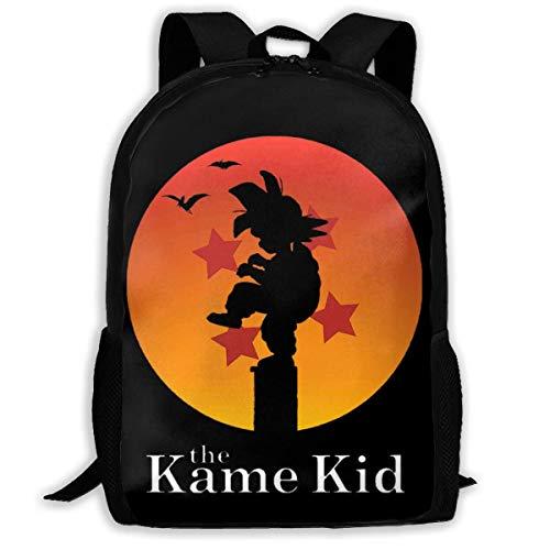 Die Kame Kid Dragon Ball Karate Reise Daypack Schultasche College Bookbag Laptop Rucksack Für Männer Frauen