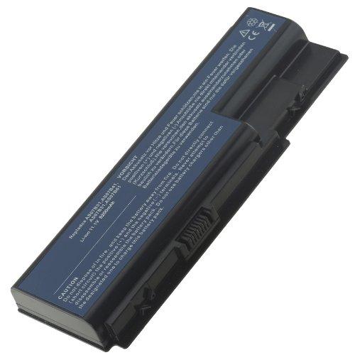 AT Batteria Potenziata 5200mAh 10,8V per Portatile Acer Aspire 5920G, 5920G-102G16, 5920G-302G16MN, 5920G-302G20H, 5920G-302G20N, 5920G-302G25, 5920G-302G25Hi, 5920G-302G25Hn, 5920G-302G25Mn