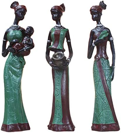 African woman statue _image1