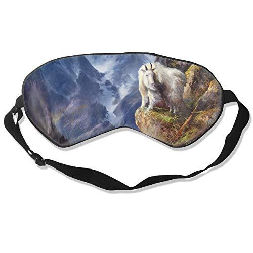Oogmasker Geit Galerij Slapen Masker Verstelbare Ademend Slaap Masker Slaap Ogen Masker Oogschaduw Blindfold