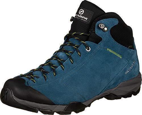 Scarpa M Mojito Hike GTX Blau, Herren Gore-Tex Wanderschuh, Größe EU 37 - Farbe Lake Blue