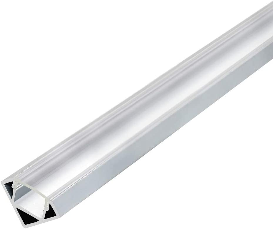inShareplus Limited time trial price Popular 6.6FT 2M LED Aluminum 0.48in Channel 12mm Inn Width