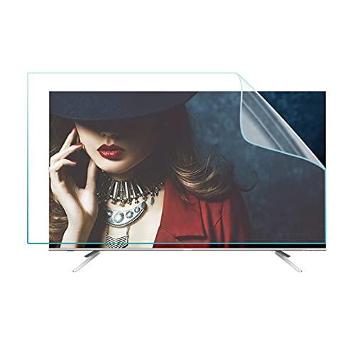 LSSB HD/Esmerilado Protector De Pantalla De TV Antideslumbrante, Luz Azul Anti Filtro De Pantalla LCD Reducir La Fatiga Ocular, para 27-75 Pulgadas/TV y PC/Mac Monitores LCD