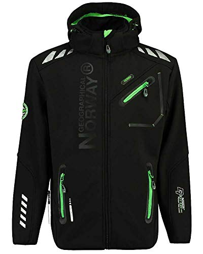 Geographical Norway 84H1 Amazon II Rainman Herren Softshell Schwarz Gr. L