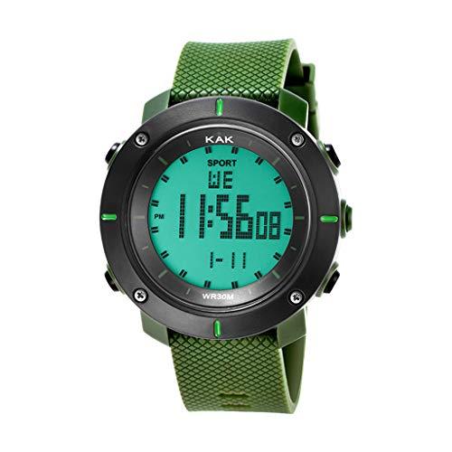 UINGKID Collection Unisex-Armbanduhr Mode High-End-Herren 30M wasserdichte elektronische Uhren-Serie