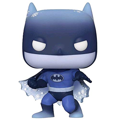 Funko POP! Heroes - Dc Super Heroes #366 HOLIDAY SILENT KNIGHT BATMAN Special Edition con PROTECTOR BOX - Figure in Vinile 9 cm