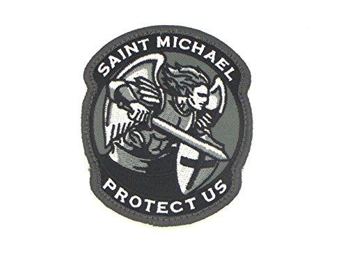 Saint Michael Modern Morale Patch (Black (SWAT) by MilSpec Monkey