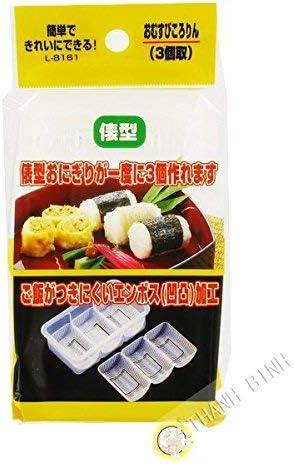 JapanBargain Japanese Sushi Press Nigiri Rice Mold Maker 3 Rolls Sushi Mold Non Stick Dishwasher product image