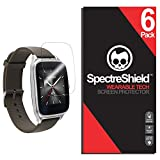 [6-Pack] Spectre Shield Screen Protector for Asus Zenwatch 2 (1.63 in) Case Friendly Asus Zenwatch 2 Screen Protector Accessory TPU Clear Film