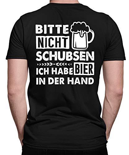 Bier Bierliebhaber Party Alkohol Saufen Beer Oktoberfest JGA Herren Männer T-Shirt Rücken