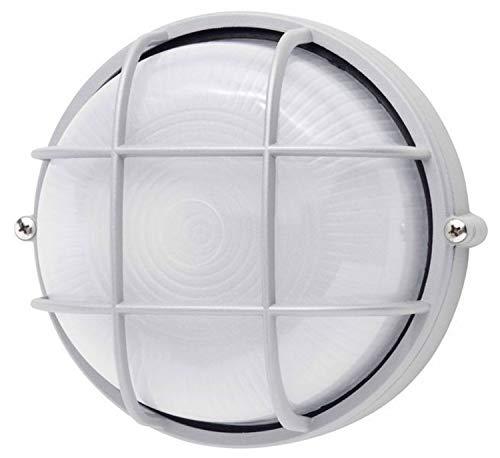 Brilliant Jerry Außenwand- und Deckenleuchte, 1x E27 max. 53 W, Metall / Glas, titan 96105/11