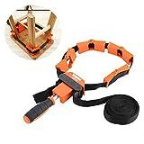 Multifunktionsrahmen Bandspanner Spannklemme Bandzwinge Rahmen-Bandspanner mit 4 Spannbacken und 4-Meter-Nylonband