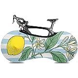 Olive Croft Strip Lemon Yellow Fruit Funda Antipolvo para Bi