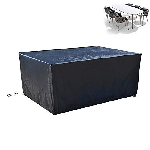 XGG Garden Furniture Covers Cube Garden Furniture Covers Outdoor Furniture Cover for Table Chairs Rattan Furniture Covers Protective Patio Furniture Cover 210D Oxford57.08 * 24 * 46in